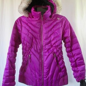 Obermeyer Girls Aisha Ski Jacket Sz L 14 16